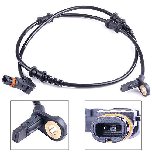 - ECCPP Front Left/Right ABS Wheel Speed Sensor Compatible with Mercedes-Benz GL320/GL350/GL450/GL550/ML320/ML350/ML450/ML500/ML550/ML63 AMG/R320/R350/R500/R63 AMG ALS376 Set of 1