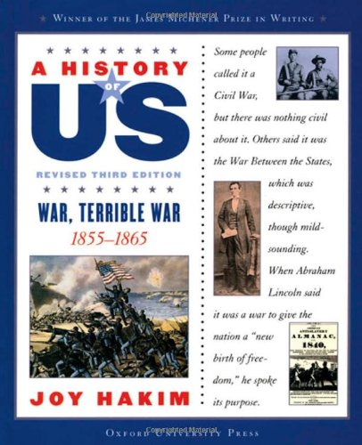 Download A History of US: War, Terrible War: 1855-1865 A History of US Book Six pdf epub