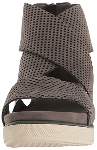 Eileen Fisher Women's Sport2-Nu Flat Sandal, Graphite, 10 M US by Eileen Fisher (Image #4)