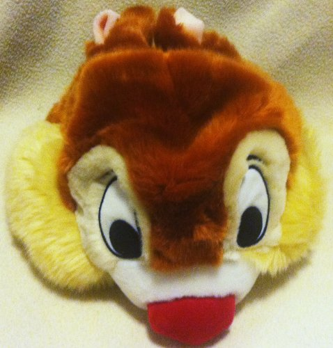 Disney Chip N Dale, Dale Plush Hat Youth Size, Dale Head, Great Halloween Easter Costume Accessory