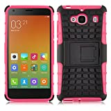 Galaxy A5 Case - ALLIGATOR Heavy Duty Rugged Double Protection Back Cover for Samsung Galaxy A5, Hot Pink