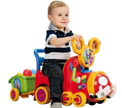 FEBER Andador tren Mickey Mouse: Amazon.es: Juguetes y juegos