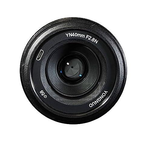 YONGNUO YN40mm F2.8N 1:2.8 Light weight Standard Prime AF/MF lens for Nikon DSLR Cameras Camera Lenses