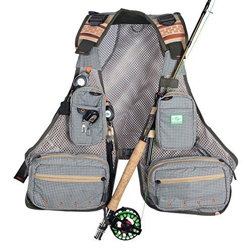 Fly Fishing Breathable Mesh Vest (Mesh Fly Fishing Vest)