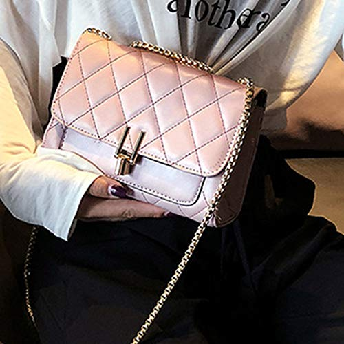tot kruis nieuwe tas lente Zdy Amerikaanse schoudertas trend 2019 c diagonale kleur tas ketting eenvoudige effen UwCfxq6tx