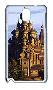 Samsung Galaxy Note 3 N9000 Cases & Covers -Castle Custom PC Hard Case Cover for Samsung Galaxy Note 3 N9000¨C White