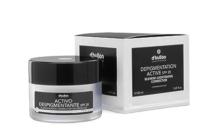 DBullón Profesional Crema Anti-Manchas con Activo Despigmentante Blanqueador y Corrector, Con