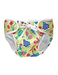 [Fruit-3] Reuseable Baby Swim Diaper Lovely Infant Swim Nappy Swimwear