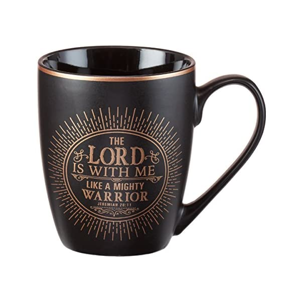 Mug-The-Lord-Is-With-Me-Matte-Black-Gilded