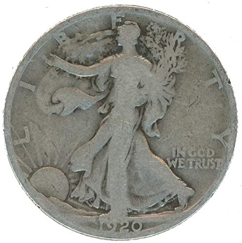 1920 P Walking Liberty Half Dollar 50c ()
