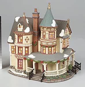 ACE TRADING (PORCELAIN) P7271 XMAS LARGE HOME PORCELAIN HOUSE