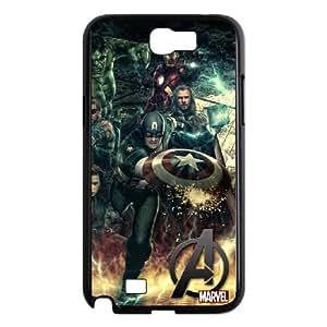 The Avengers Samsung Galaxy N2 7100 Cell Phone Case Black MSU7135371