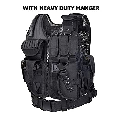 WOLIORS 213 Police SWAT Costume Tactical Training Paintball Vest Military CS Outdoor Airsoft Vest