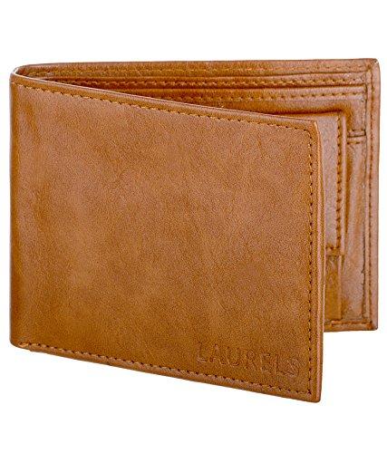 Laurels Tan Men's Wallet