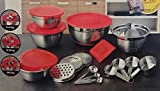 Home Garden Best Deals - Better Homes and Gardens 21 Piece Stainless Steel Measure and Mix Kitchen Set