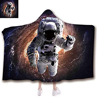 scocici Fashion Blanket Ancient China Decorations Blanket Wearable Hooded Blanket,Unisex Swaddle Blankets for Babies Newborn by,Andromeda Galaxy Fantasy Science Fiction Art,Adult Style Children Style