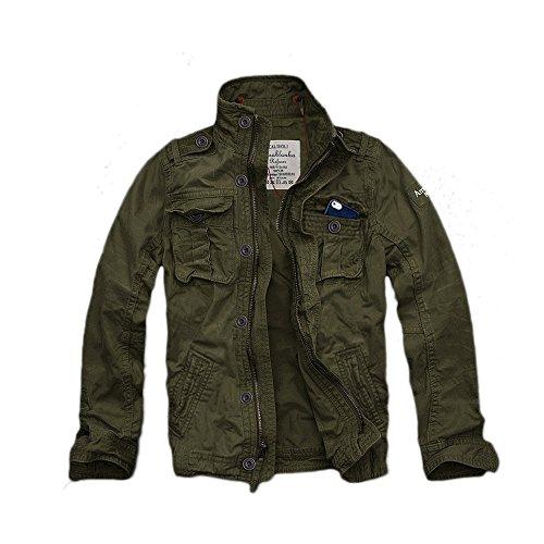 (カリホリ)CaliHoliミリタリージャケットD/オリーブXXLサイズシャツジャケットトラックジャケット ミリジャケメンズ並行輸入品