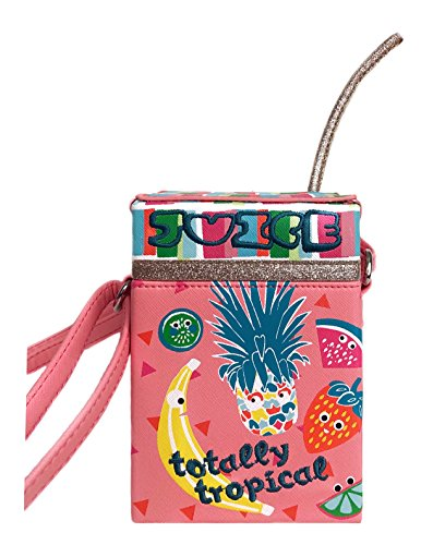 Lily Bloom Totally Tropical Mini Crossbody Bag, Juice BOX