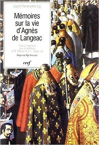 Télécharger en ligne Mémoires sur la vie d'Agnès de Langeac pdf ebook