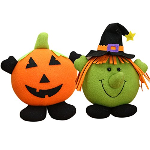 NinkyNonk Halloween Pumpkin Witch Decoration Set Halloween Toys Gift for Toddlers and (Halloween Decortions)