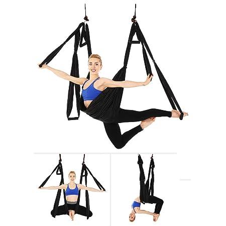 Fohee Hamaca aérea de Yoga, Yoga antigravedad Columpio de ...