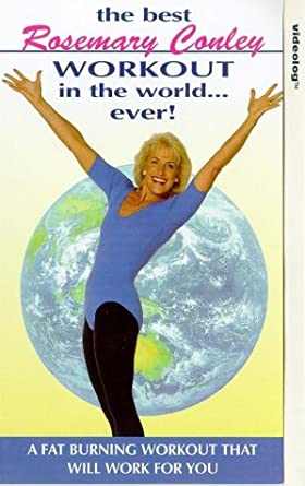 98b6e057c37 Rosemary Conley  The Best Workout In The World... Ever  VHS   Rosemary  Conley  Amazon.co.uk  Video