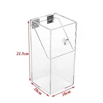 Strange Amazon Com Ihomei Acrylic Clear Makeup Brush Storage Box Pdpeps Interior Chair Design Pdpepsorg
