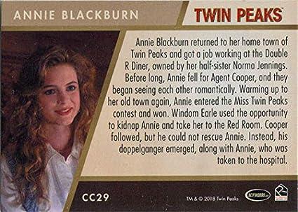 Twin Peaks Gold Box Postcard Card # 56 of 61 Heather Graham as Annie Blackburn
