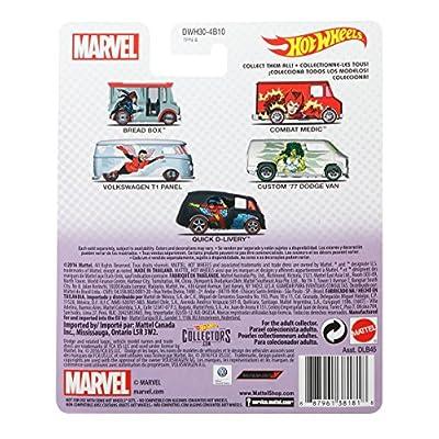 Hot Wheels Custom 77 Dodge Van Vehicle: Toys & Games