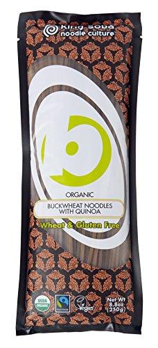 Quinoa Gluten Free Pasta - Gluten-Free Organic Buckwheat Quinoa Spaghetti Noodles by King Soba
