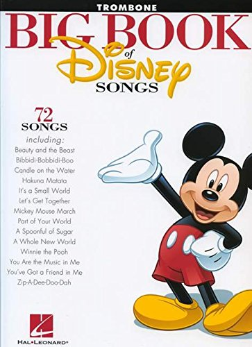 The Big Book of Disney Songs - Trombone (Book Only) (Trombone Songs)