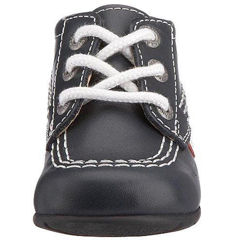 Kisses Kick Hi - Calzado de primeros pasos Niñas Black/White