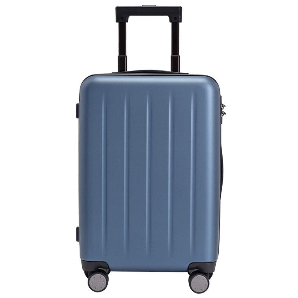 FRF トロリーケース- 人および女性20インチのトロリー箱のスーツケースの荷物、作り付けTSAパスワードロック (Color : Blue, Size : 20in) B07QKQRMGZ Blue 20in