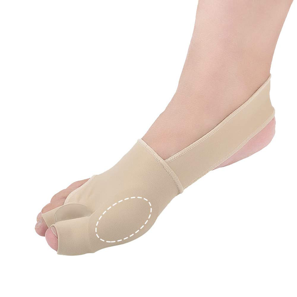 CapsA Bunion Corrector & Bunion Relief Protector Sleeves Kit Gel Bunion Pads Cushion for Men Women Splint Orthopedic Bunion Protector
