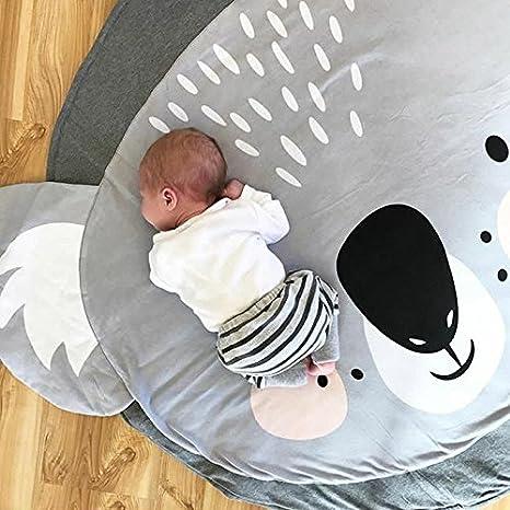 Mignon Tapis de Chambre Bebe Animaux Koala Tapis Jeu Bébé Tapis éveil  Enfant Fille Garcon Cadeau