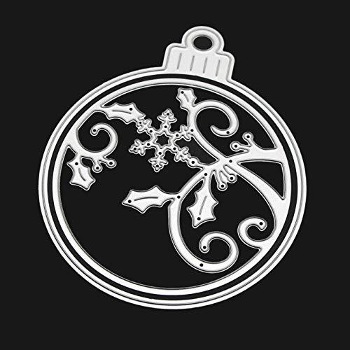 Cutting Dies, FORUU Merry Christmas Metal Stencils Scrapbooking Embossing DIY Crafts D