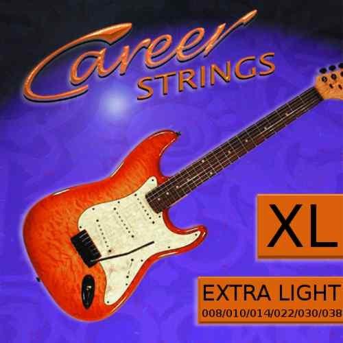 Career Strinx E-Gitarre Extra Light 008-038 Nickel Plated Steel