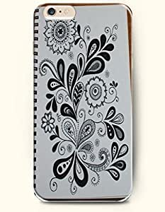 SevenArc Apple iPhone 6 4.7' 4.7 Inches Case Paisley Pattern ( a Beautiful Flower Drawing )