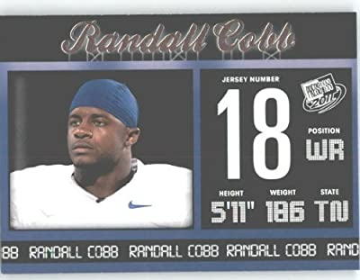 2011 Press Pass NFL Draft Football Card # 48 Randall Cobb WR - Kentucky (RC - Rookie Card)