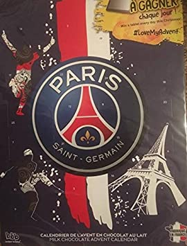 Psg Calendrier Match.Calendrier De L Avent Paris Saint Germain 2016 En Chocolat Au Lait