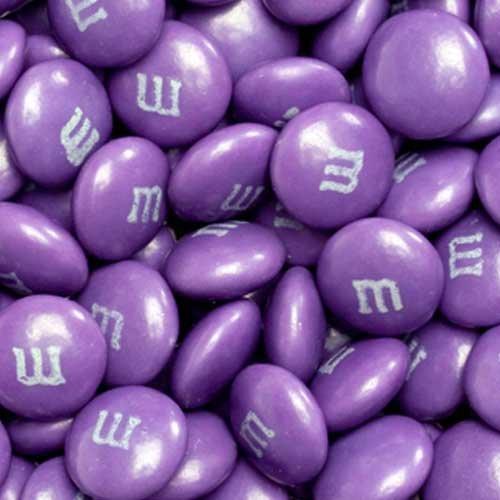 Purple Milk Chocolate M&M's Candy (5 Pound Bag)