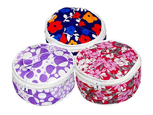 Kuber Industries Cotton 3 Piece Roti Cover Set – Multicolour Price & Reviews