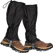 Lictin 1 Pair Hiking Gaiters Leg Gaiters Snow Gaiters Mountain Snow Legging Gaiters Lightweight Hiking Gaiters