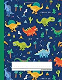 Dinosaur Era - Primary Story Journal: Dotted Midline and Picture Space | Grades K-2 School Exercise Book | 100 Story…