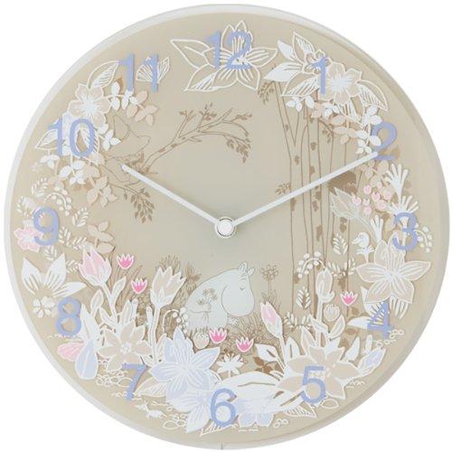 ピーオーエス POS ムーミンタイムピーシーズ Moomin Time Pieces 掛け時計 Moomin picking flower MTP-03-0009 B00HRJSIRY