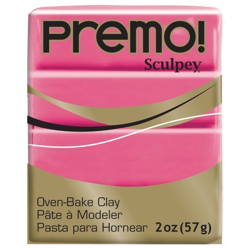 (Premo Sculpey Polymer Clay 2 Ounces-Blush)