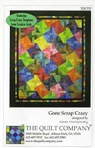 Amazon gone scrap crazy quilt pattern by karen montgomery gone scrap crazy quilt pattern by karen montgomery maxwellsz
