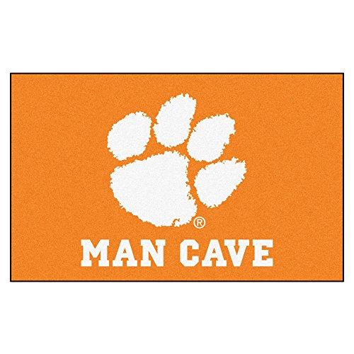 Clemson University Man Cave Area Rug ()