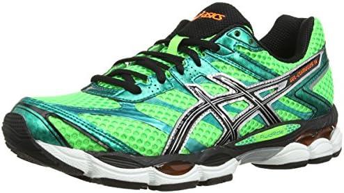 ASICS Gel-Cumulus 16 - Zapatillas de deporte para hombre, Verde (Black/White/Silver 9001), 49: Amazon.es: Zapatos y complementos