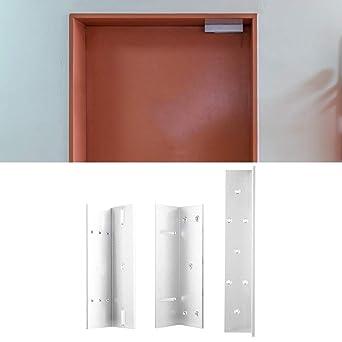 Cerradura electromagnética, puerta Z L Soporte de montaje Soporte de soporte para cerradura eléctrica Aleación de aluminio: Amazon.es: Industria, empresas y ciencia